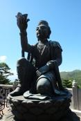 Statue at Tian Tang Buddha