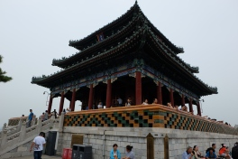 Jingshan Park Temple on the Peak