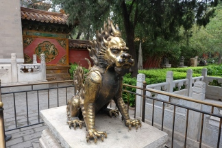 Bronze statue near the North gate