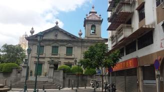 Church in old Macau