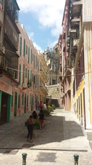 Side street in old Macau