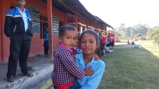 The kids in the village were just beautiful and so cute