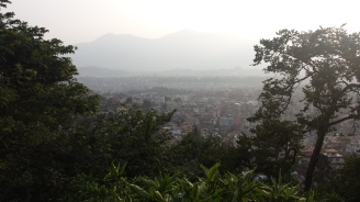 View of Kathmandu from Monkey Temple