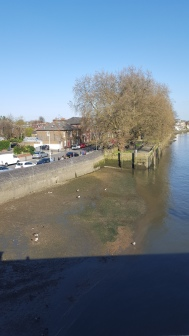 Kew Bridge towards Chiskwick