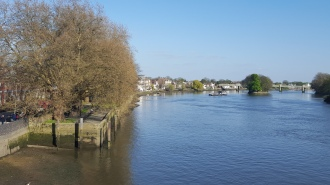 Kew Bridge eastwards, northern bank