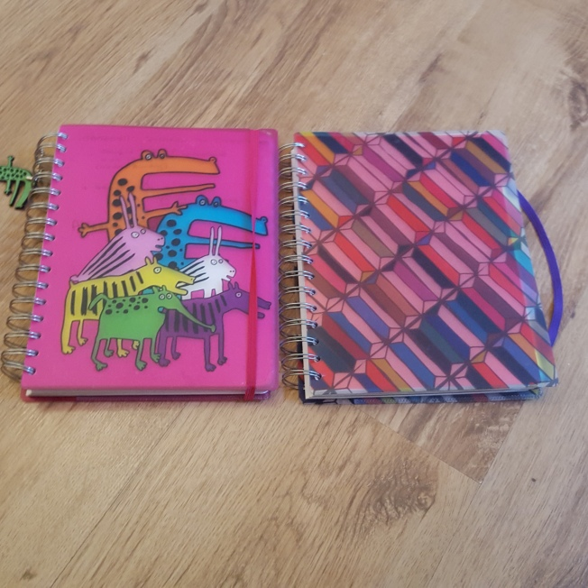 Notepads... used and removed